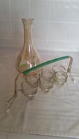 Retro liqueur set for sale!