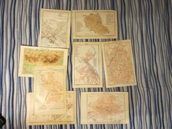 A Pallas Nagy Lexikona térképmellékletei