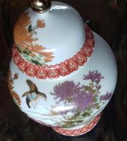Gyönyörű! Japán porcelán teafu tarto, 12.5 cm, fedele nélkül