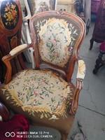Neobarokk karfás szék!