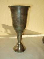 Ezüst pohár 800-as P V
