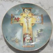 Antonio Barzoni : Krisztus élete - limitált kiadású tányér