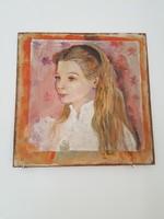 Kislány Portré