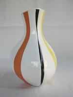 Budapesti porcelán art deco váza