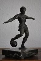 Focista-Bronz szobor