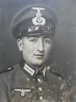 2.Világháborús német katona nagyméretű eredeti fotó.