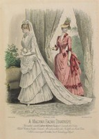 J. David és E. Cailland jelz. : A bazár divatképe