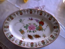 Kézzel festett porcelán tányérok