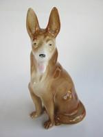 Porcelán kutya német juhászkutya