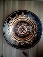Kürthy óbányai falitányér, tányér