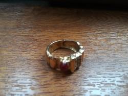 Nagyon régi súlyos 18k aranygyűrű