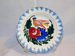 MISKOLCZ madaras fali tányér