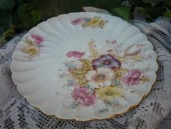 Antik, fajansz tányér
