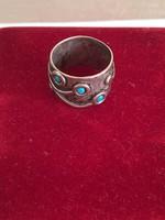 Antik ezüst gyűrű 925 fémjelzés