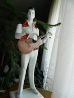 S.O.S. AKCIÓ! RITKASÁG!!! Elvis Presley 37cm!!!-os Zsolnay