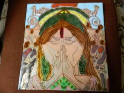 Seprényi Georgina _ Ezoteria  - meditációs és ima  tűzzománc kép