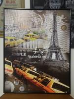 Parizs taxi kép