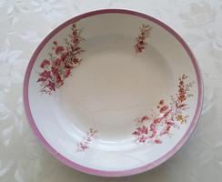 Régi porcelán falitányér virágos tányér 30 cm