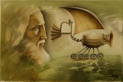 Boros Attila olajfestmény, EREDET IGAZOLÁS,VISSZAVÁSÁRLÁSI GARANCIÁVAL, INGYEN SZÁLLÍTÁS!