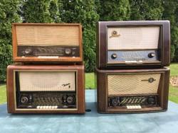 Kuriózum külföldi retro dobozos rádió gyűjtemény.