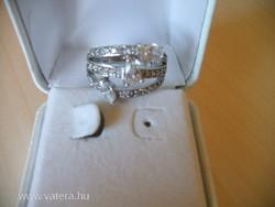 Női ezüst gyűrű szép mutatós