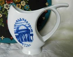 Marianske Lazne porcelán csőrös ivó, kúrapohár, pohár
