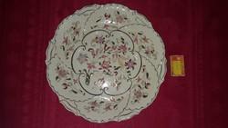 Zsolnay porcelán kínáló tál / falitányér