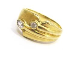 Arany gyűrű (Kecs-Au68819)