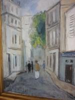 Szilvásy Margit (1898 - 1977 - Párizsi utca