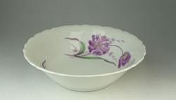 0Q908 Régi tulipános porcelán tál