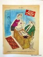 1974 április 11  /  LUDAS MATYI  /  SZÜLETÉSNAPRA RÉGI EREDETI ÚJSÁG Szs.:  5502