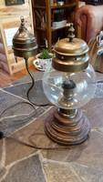 Vintage lámpa retro izzóval