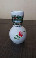 Kerámia Bodrogkeresztúri kis váza Mezőkövesd
