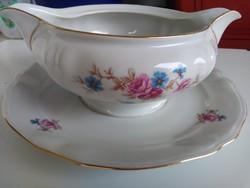 Gebrüder Benedikt ritka antik porcelán