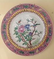 Kézzel festett gyönyörű kínai tányèr 1.