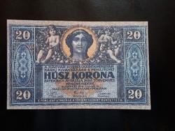 Húsz  Korona  1919.  MÁSOLAT !!!