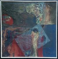Ismeretlen művész: Absztrakt kép