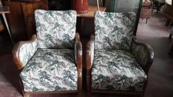 Nobarokk fotelek