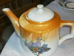 Antik zsolnay kanna teás