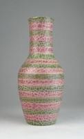 0Q003 Jelzett retro kerámia váza 21 cm
