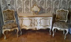 Különleges eredeti antik kastély bútor komód eladó