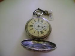 Antik ezüst kulcsos Zsebóra 1780 -1800 évek elejéről chronometre werk  ..IRÁNYTŰ. 9e2c9ab860