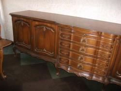 Warrings antik komod 300x60x95cm magas