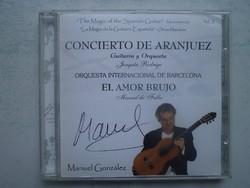 Concierto de Aranjuez. Manuel González ( Dedikált! )