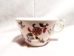Zsolnay? Antik vastagfalú csésze