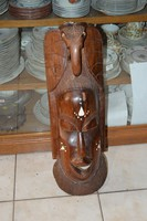 Afrikai fa faragott maszk
