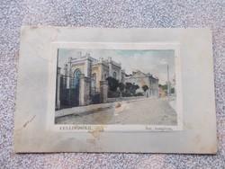 Celldőmőlk, 1910.Zsinagoga, képeslap R!