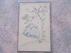 Mela Koehler,képeslap