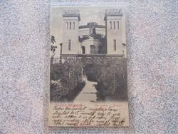 Köszeg ,1903.Zsinagóga képeslap R!