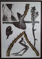 Szabados Árpád litográfia